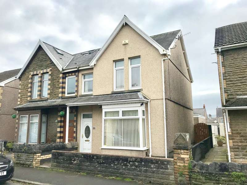 3 Bedrooms Semi Detached House for sale in Cardonnel Road, Skewen, Neath