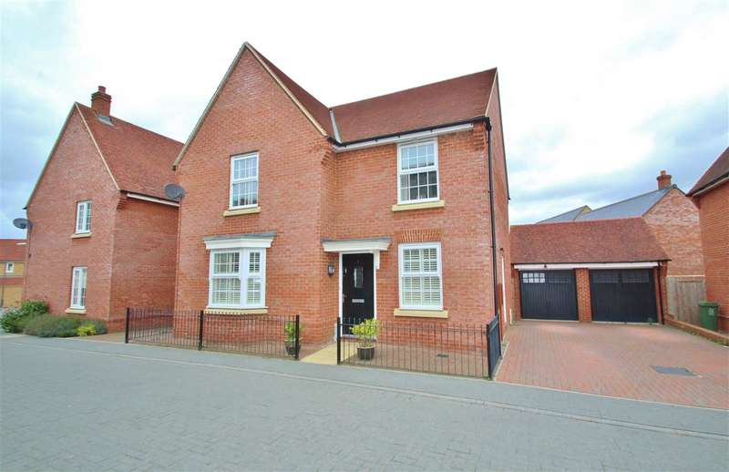 4 Bedrooms Detached House for sale in Constance Street, Buckingham