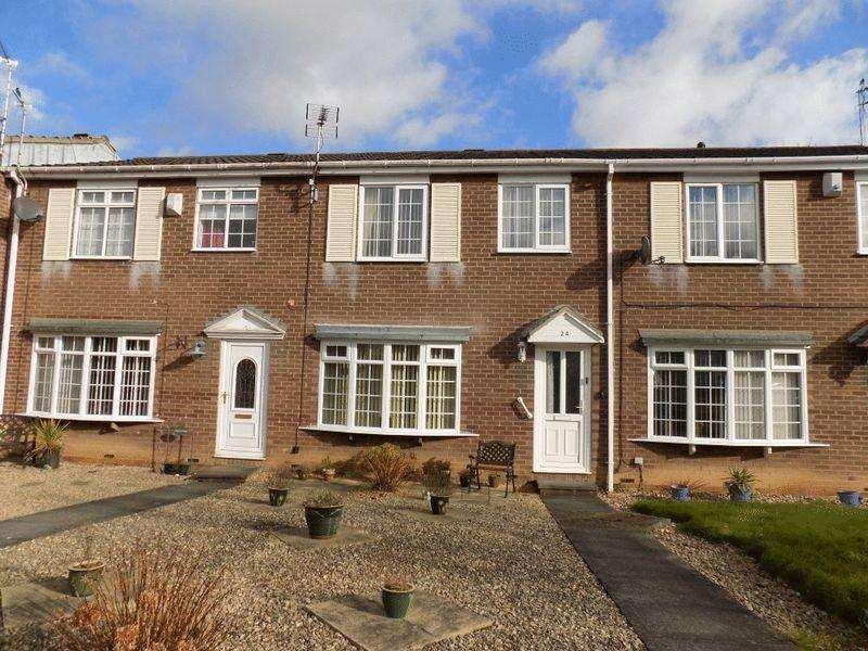 3 Bedrooms Terraced House for sale in Barrington Court, Bedlington
