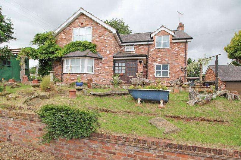 4 Bedrooms Detached House for sale in Sandy Lane, Wrexham