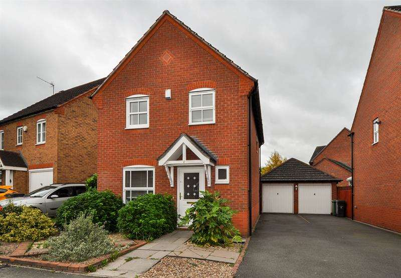 3 Bedrooms Link Detached House for sale in Rosedale Close, Brockhill, Redditch