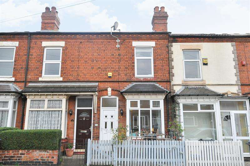 2 Bedrooms Terraced House for sale in Victoria Road, Stirchley, Birmingham