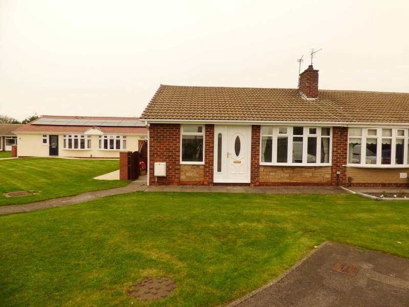 2 Bedrooms Semi Detached Bungalow for sale in Pembroke Way, Redcar