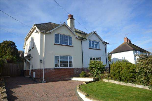 4 Bedrooms Semi Detached House for sale in Woolbrook Road, Sidmouth, Devon