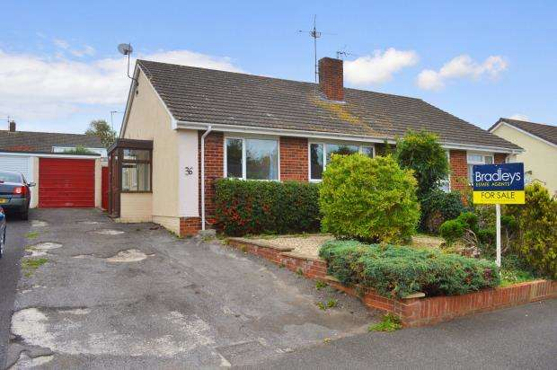 2 Bedrooms Semi Detached Bungalow for sale in Galmington Drive, Taunton, Somerset