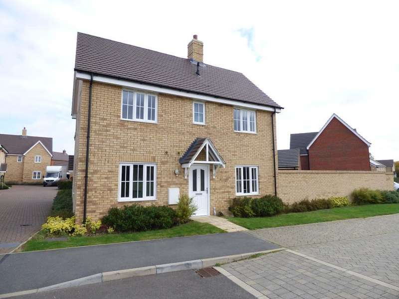 3 Bedrooms Semi Detached House for sale in Joyce Close, Bedford, MK41 0FE