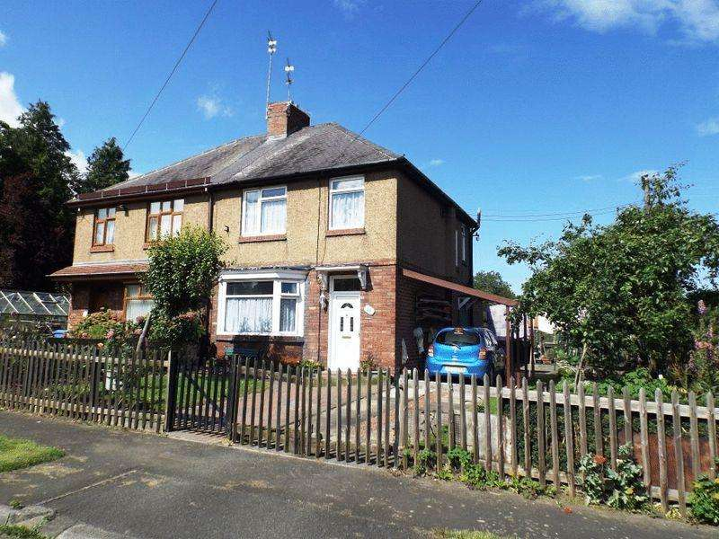 3 Bedrooms Semi Detached House for sale in The Villas, Morpeth