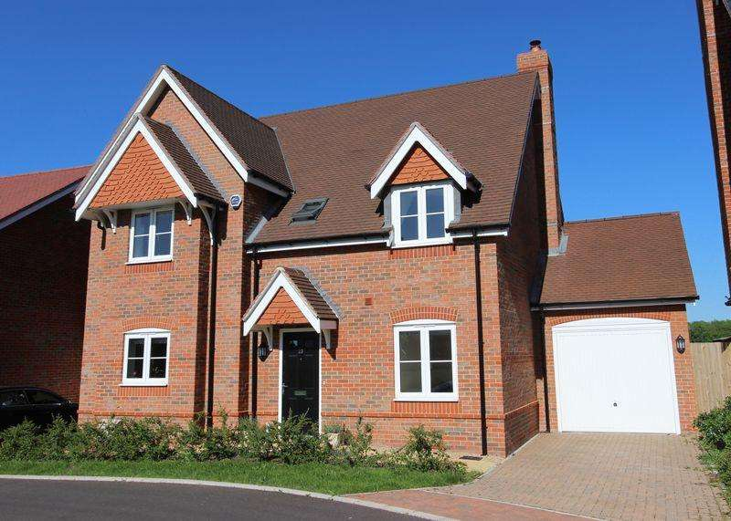 4 Bedrooms Detached House for sale in Nalder Green, East Challow