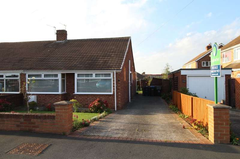 2 Bedrooms Semi Detached Bungalow for sale in Thinford Gardens, Middlesbrough, TS5