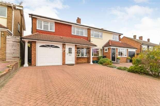 3 Bedrooms Semi Detached House for sale in Hammondstreet Road, Cheshunt, Hertfordshire