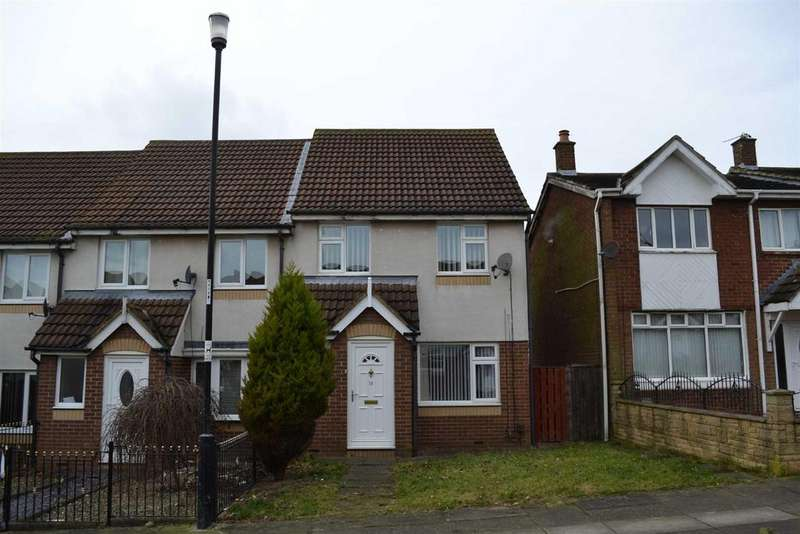3 Bedrooms End Of Terrace House for rent in Killarney Avenue, Downhill, Sunderland