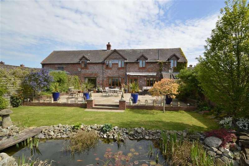 4 Bedrooms Barn Conversion Character Property for sale in Longlea, Longville, Much Wenlock, TF13