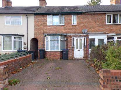 3 Bedrooms Terraced House for sale in Millhouse Road, Yardley, Birmingham