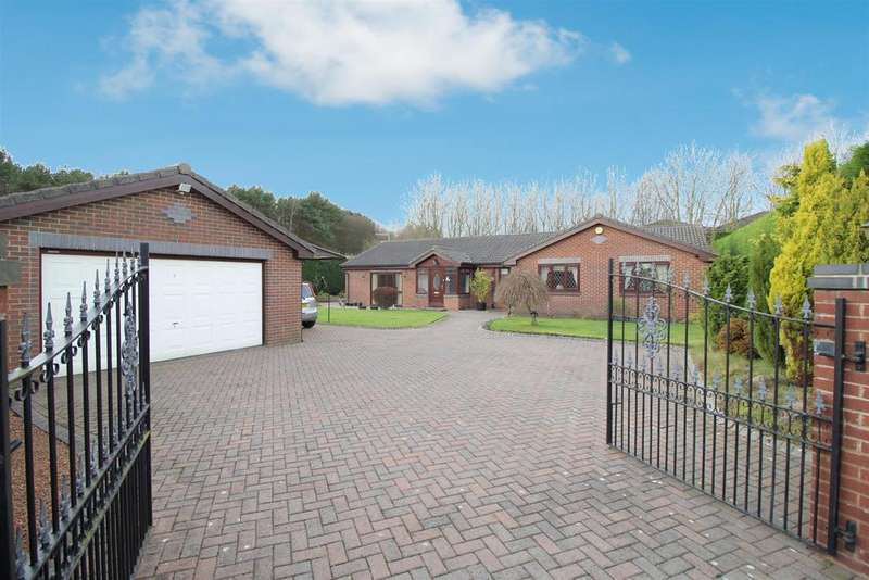 4 Bedrooms Detached Bungalow for sale in Brenkley Court, Seaton Burn, Newcastle Upon Tyne