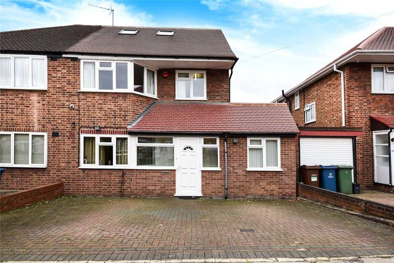 4 Bedrooms Semi Detached House for sale in Merrion Avenue, Stanmore, Middlesex, HA7