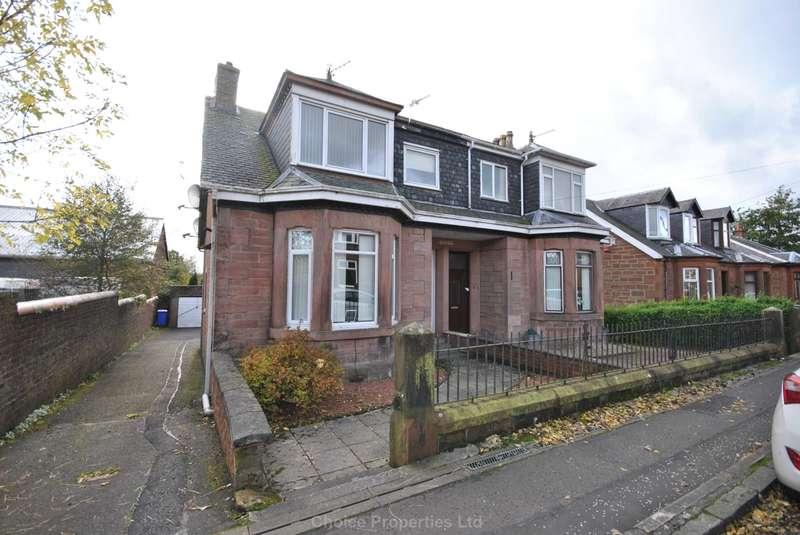 3 Bedrooms Semi Detached House for sale in Mauchline Road, Auchinleck, KA18 2BJ