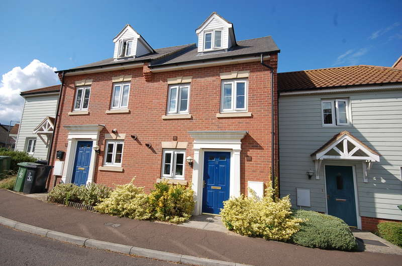 3 Bedrooms Town House for sale in Chalk Close, Thetford