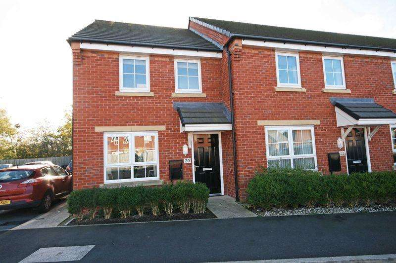 2 Bedrooms Mews House for sale in 20 Willow Road, Thornton-Cleveleys
