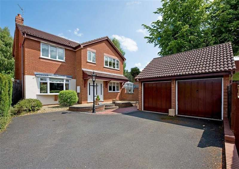 4 Bedrooms Detached House for sale in 40, Penleigh Gardens, Wombourne, Wolverhampton, West Midlands, WV5