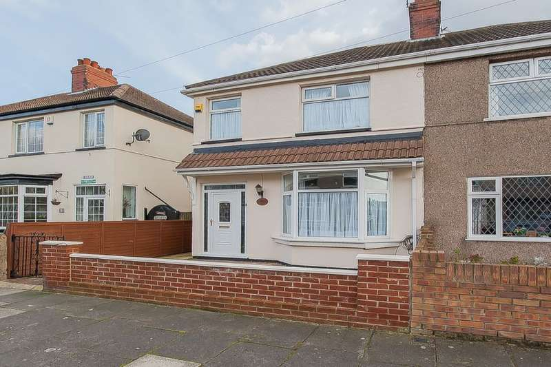 3 Bedrooms Semi Detached House for sale in Tennyson Road, Cleethorpes, DN35