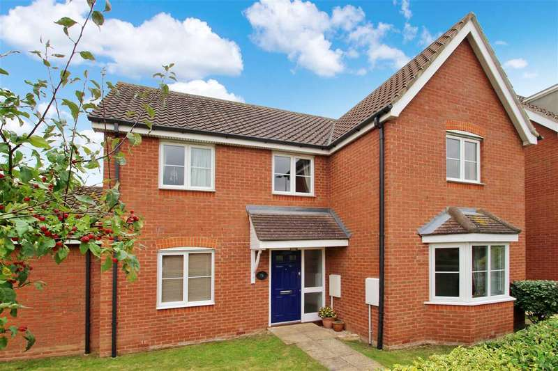 4 Bedrooms Detached House for sale in Ropes Drive, Grange Farm, Kesgrave, Ipswich