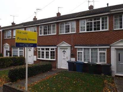 3 Bedrooms Terraced House for sale in Hawthorne Ave, Cotgrave, Nottingham, Nottinghamshire