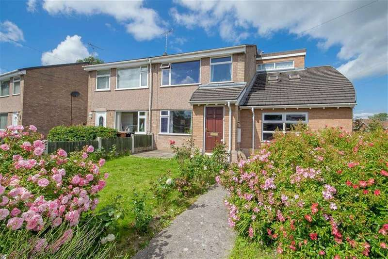 4 Bedrooms Semi Detached House for sale in The Firs, Mold