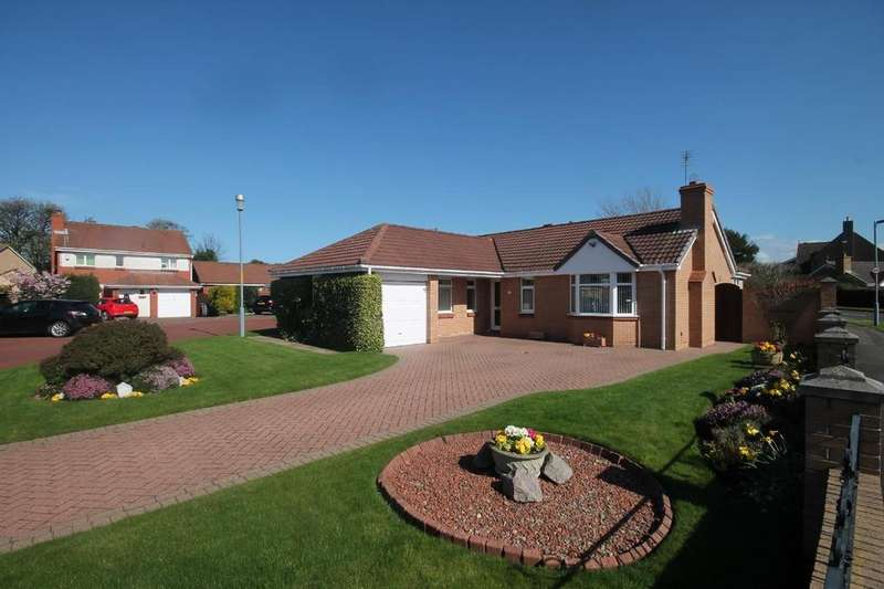 3 Bedrooms Detached Bungalow for sale in Taunton Close, Tollesby Hall