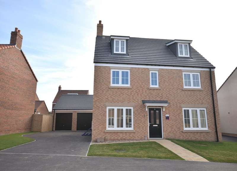 5 Bedrooms Detached House for sale in High Mill, Off Field Lane, Scarborough, North Yorkshire YO13 0DA