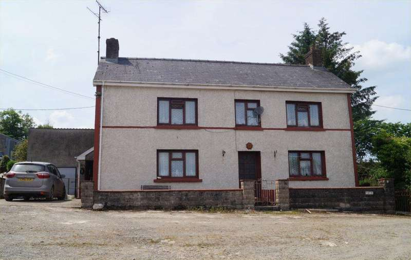 4 Bedrooms Smallholding Commercial for sale in Bancyffordd, Llandysul, Carmarthenshire SA44
