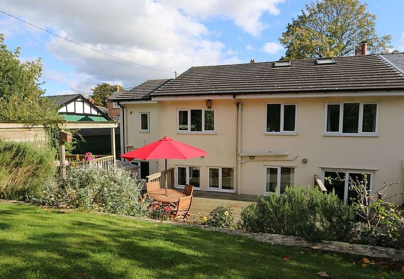 5 Bedrooms Semi Detached House for sale in Church Lane, Guilden Sutton, Chester, Cheshire, CH3 7EW