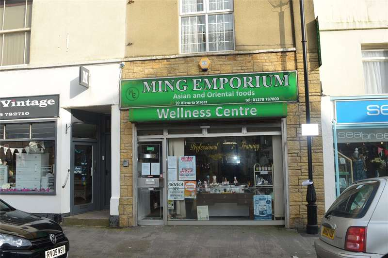 Shop Commercial for sale in Victoria Street, Burnham-on-Sea, Somerset, TA8
