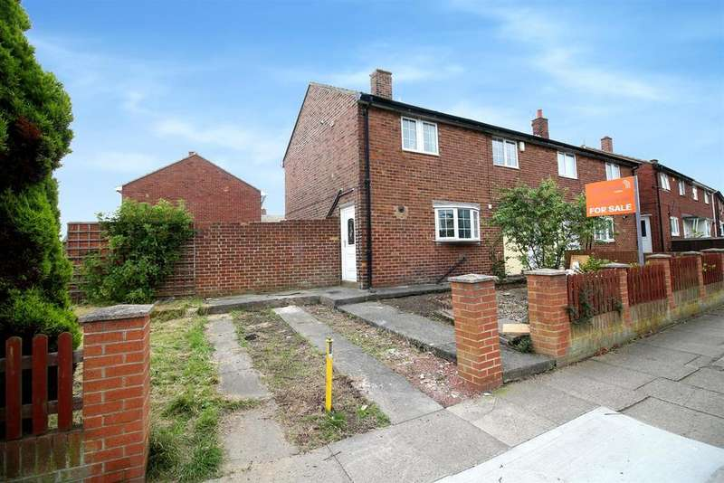 3 Bedrooms Semi Detached House for sale in Barnstaple Road, North Shields