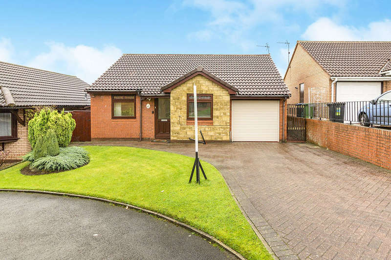 2 Bedrooms Detached Bungalow for sale in Aidens Walk, FERRYHILL, DL17