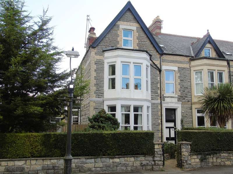 6 Bedrooms End Of Terrace House for sale in Cwrt Y Vil Road, Penarth