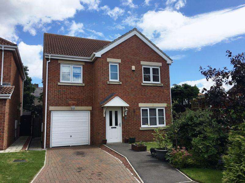 4 Bedrooms Detached House for sale in Beaumont Grange, Seghill