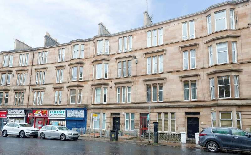 2 Bedrooms Flat for sale in Clarkston Road, Old Cathcart, Glasgow, G44 3BL