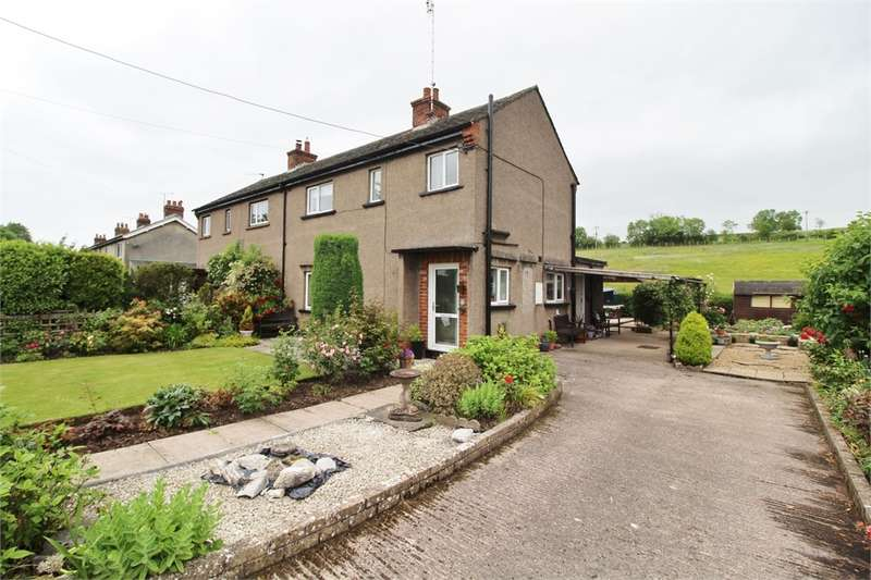 3 Bedrooms Semi Detached House for sale in CA10 1ND Salkeld Road, Langwathby, Penrith, Cumbria