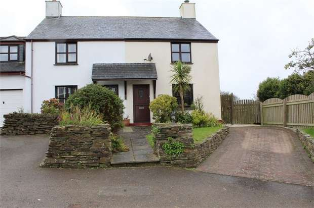 2 Bedrooms End Of Terrace House for sale in The New Cottages, Rumford, nr Padstow, PL277SS