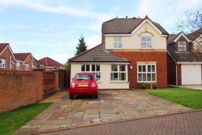 3 Bedrooms Detached House for sale in Bishopdale Close, Feniscowles, Blackburn, Lancashire, BB2