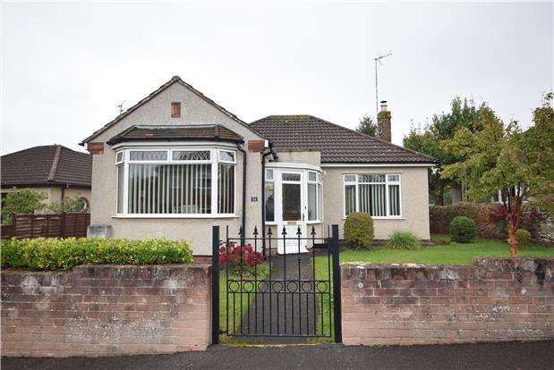 2 Bedrooms Detached Bungalow for sale in Sandringham Avenue, Downend, BRISTOL, BS16 6NL