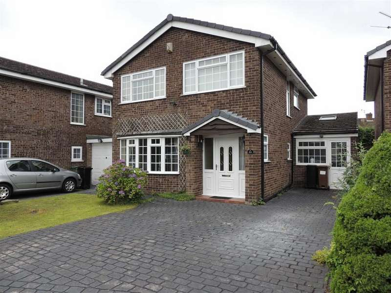 4 Bedrooms Detached House for sale in Shepley Close, Hazel Grove, Stockport