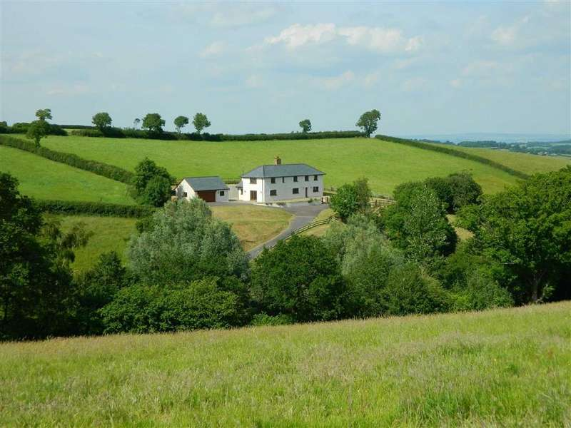 4 Bedrooms Detached House for sale in Burrington, Umberleigh, Devon, EX37