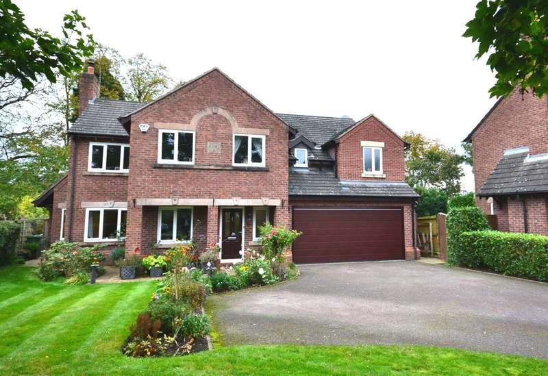 5 Bedrooms Detached House for sale in Tarvin Close, Macclesfield