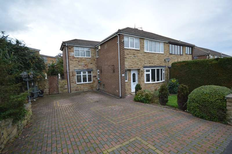 3 Bedrooms Semi Detached House for sale in Grove Park, Calder Grove, Wakefield