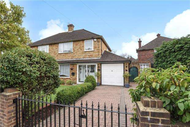 3 Bedrooms Semi Detached House for sale in Fordbridge Road, Ashford, Surrey