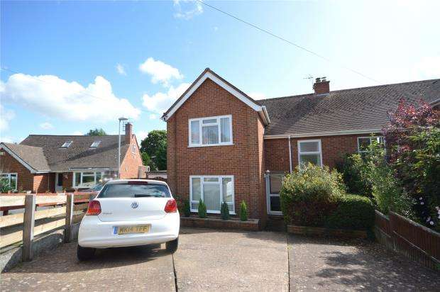 3 Bedrooms Semi Detached House for sale in Lower Kings Avenue, Exeter, Devon