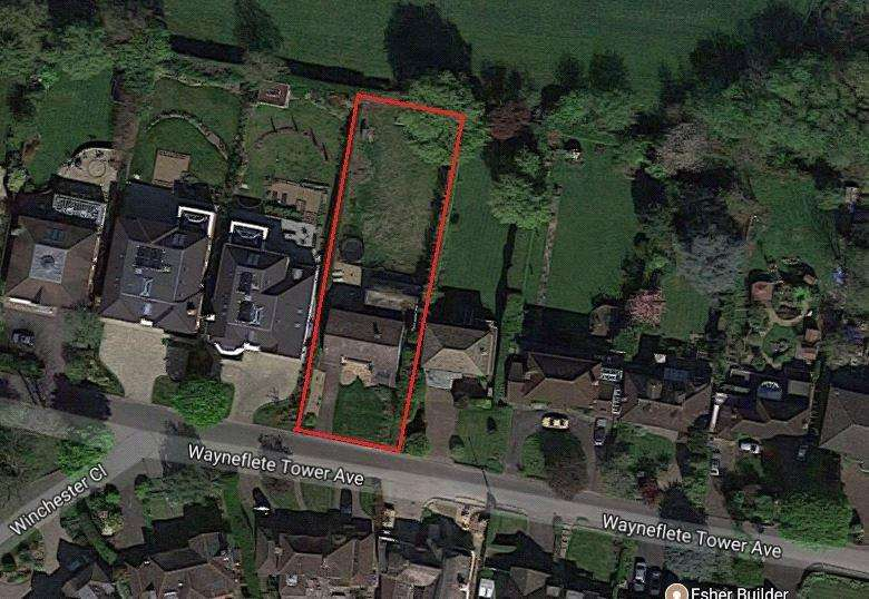 5 Bedrooms Plot Commercial for sale in Wayneflete Tower Avenue, Esher, Surrey, KT10