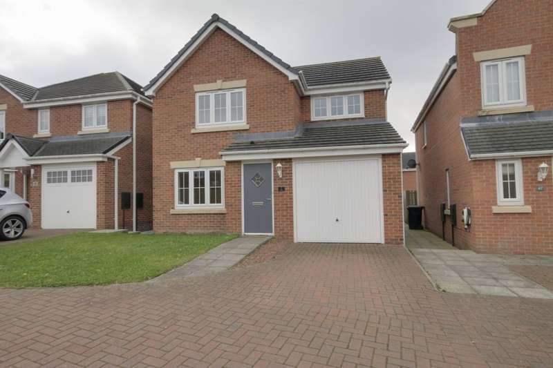 3 Bedrooms Detached House for sale in Arkless Grove, The Grove, Consett, DH8