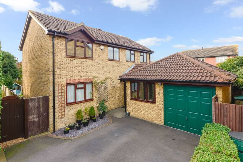 4 Bedrooms Detached House for sale in Duckworth Close, Willesborough, Ashford, TN24